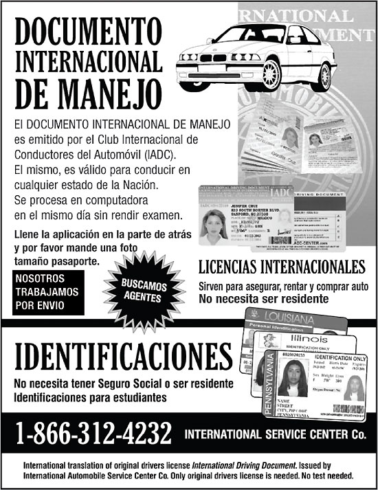 Documento Internacional de Manejo