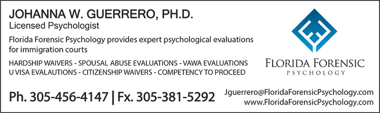 Johanna W. Guerrero, Ph.D. Florida Forensic Psychology