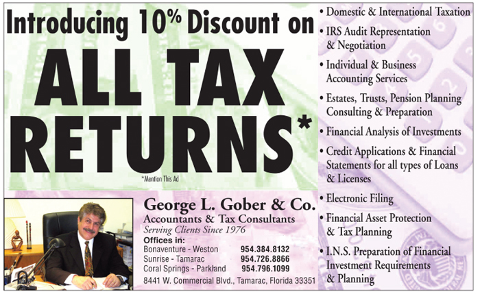 George L. Gober Tax